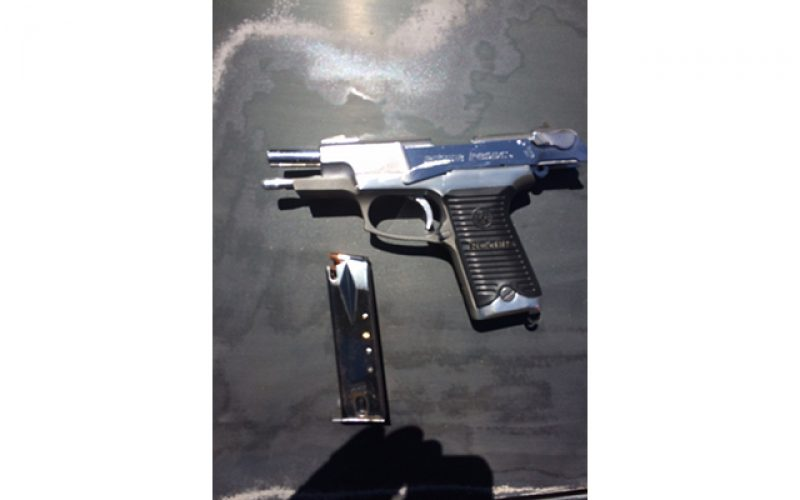 Traffic Stop Leads to Discovery of Concealed, Loaded Firearm