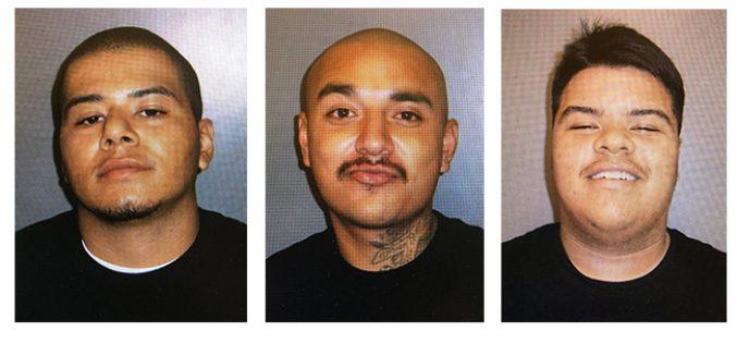 Three Arrested After Shotgun Found in Car