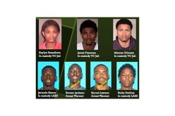 Five Burglars Busted; Two Remain at Large
