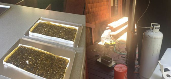 Honey Oil Lab Bust Yields 3 Arrests
