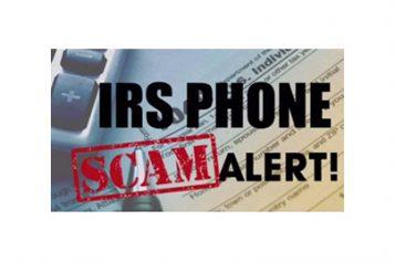 IRS Phone Scam Alert From EL Segundo PD
