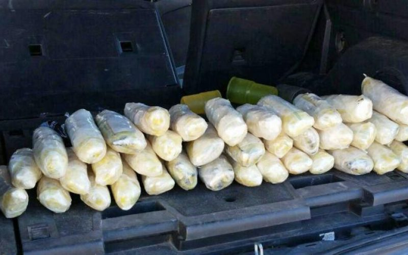 Driving 100 MPH with 40 Pounds of Meth