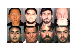 "Eight ""Johns"" Snagged in Undercover Prostitution Sting"
