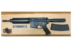 Residents Nix Cannabis Robbery, Man with Assault Rifle Arrested