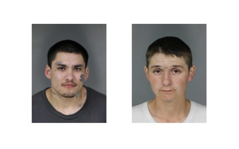 One arrested, one at large after robbery at gunpoint