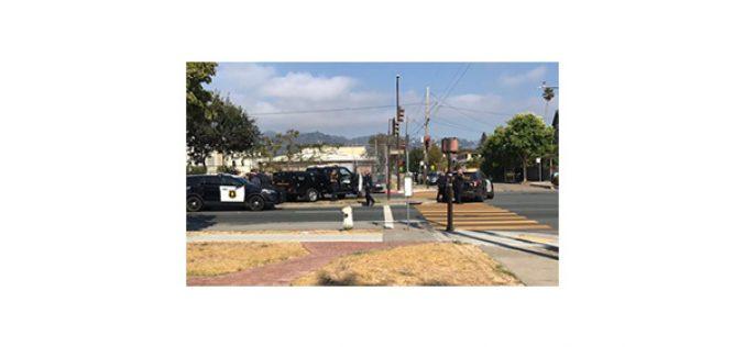 Middle School Lockdown, Armed Man Taken into Custody