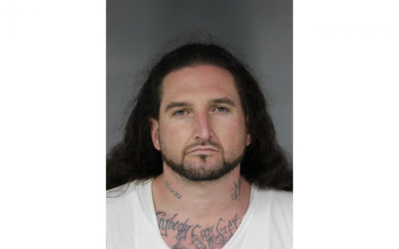 Parolee heads back to jail for domestic violence, drug charges