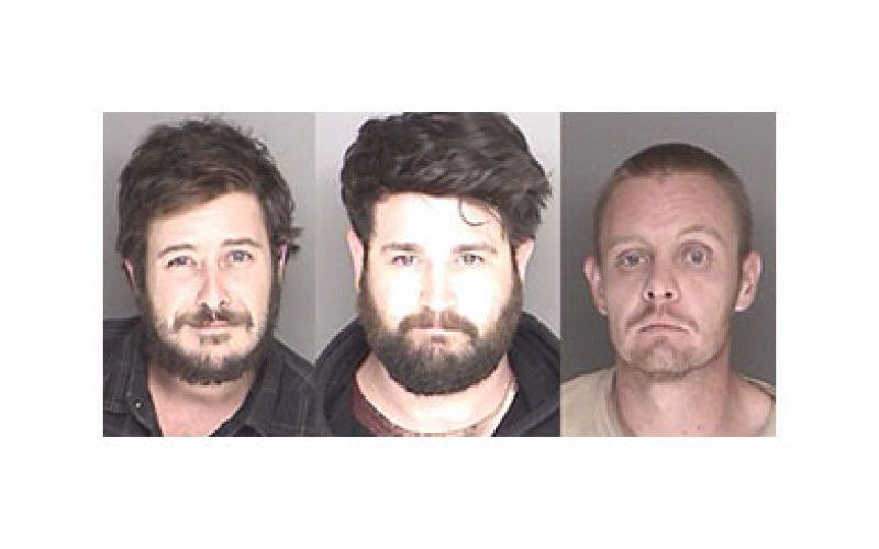 Graffiti Trio Busted