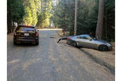 Suspect arrested after chaotic pursuit through Placerville, Grizzly Flats