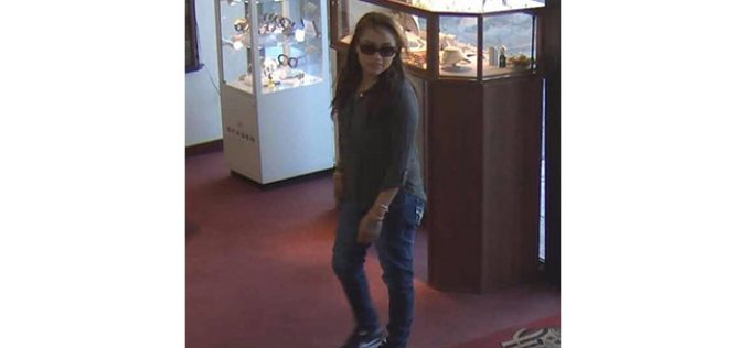 Novato PD seeking jewelry store robbery suspect