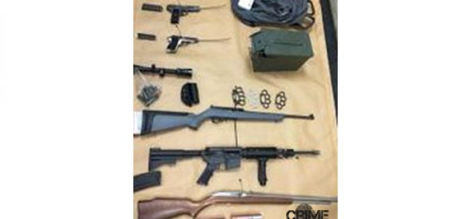 Major Crimes Task Force Encounters Gang Member's Speeding Vehicle and Loaded Firearms
