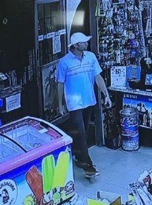 Surveillance photo of thief