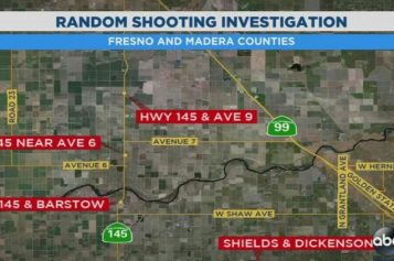 Random Shootings Trending in Fresno and Madera County