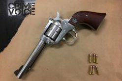 Driver Arrested for Carrying Loaded Gun, Open Container of Cannabis