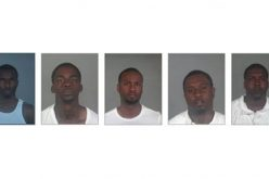 Five Bank-Jugging Suspects Arrested on Multiple Charges