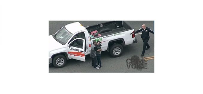 Pair Attempts to Evade Police… in a U-Haul Truck