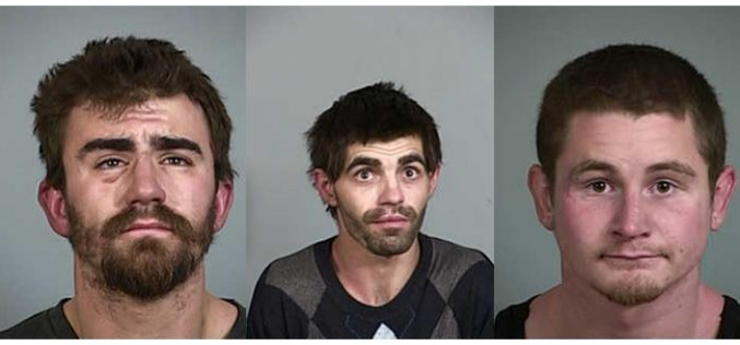 Residential burglary victim comes home to find house ransacked; 3 arrested