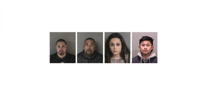 4 Arrests Made in DUI Enforcement Crackdown in Separate Incidents