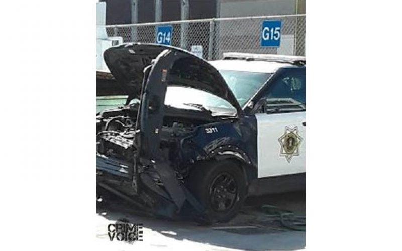 San Jose PD: Wanted suspect rams patrol car, remains at large