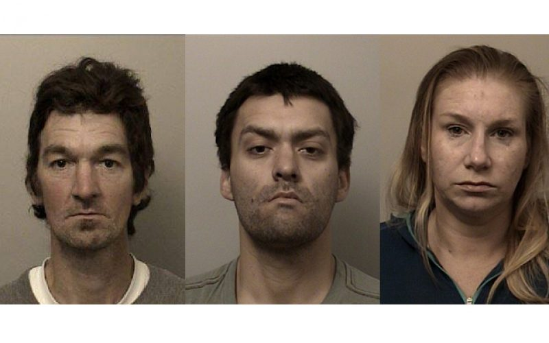 Three arrested after burglary-in-progress report in El Dorado Hills