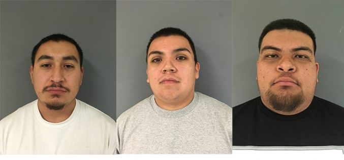 Three arrested on gun charges outside Jack In The Box in Hollister