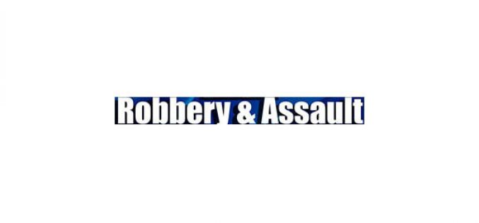 Pair arrested following robbery