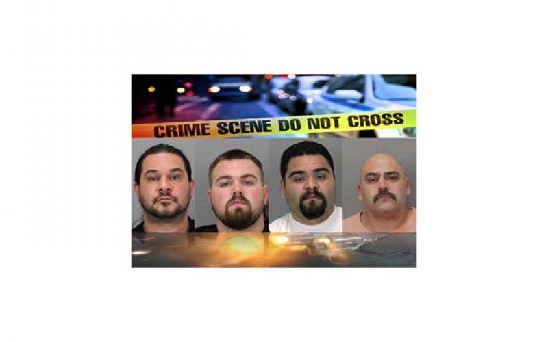 Four gang members arrested in double homicide of two brothers