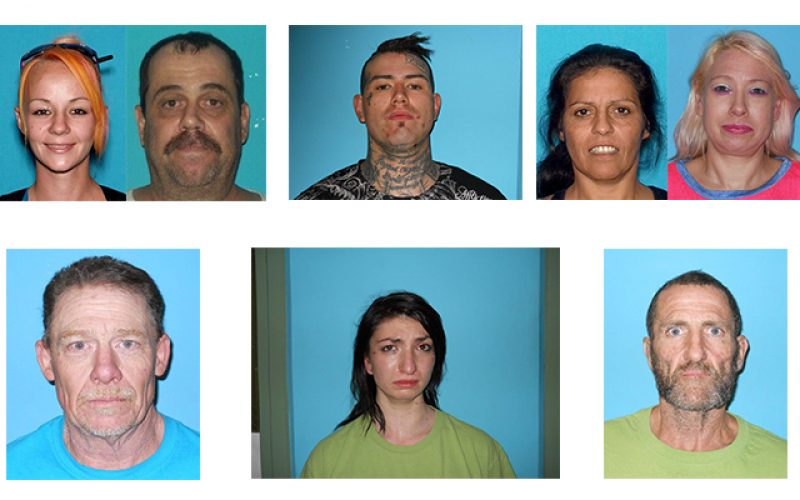 Ten arrested after search warrant served at Jamestown strip club