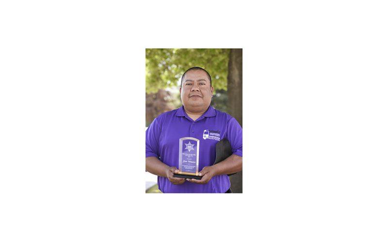 Tulare County Sheriff's Office Honors Chaplain Jose Velasco