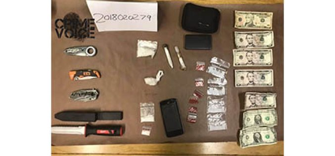 Stop of Bicyclist Yields Meth
