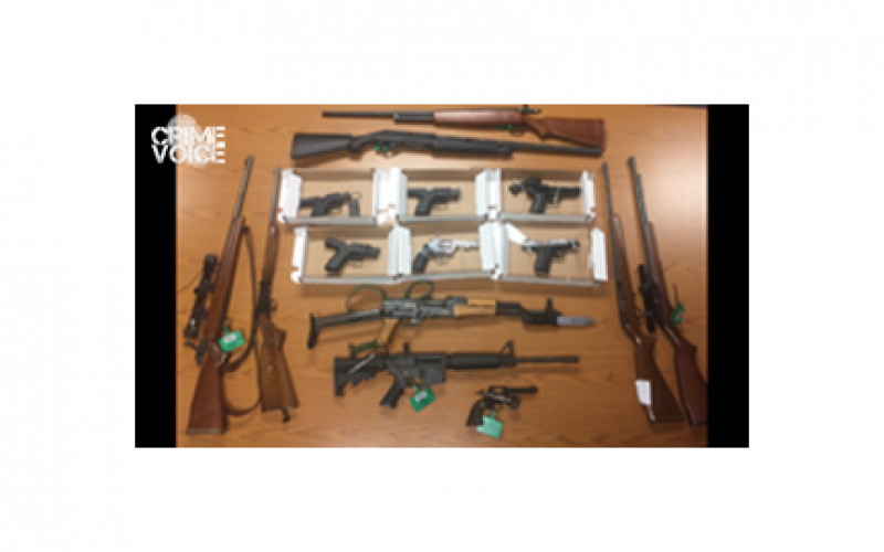 Illegal Firearms Sweeps Nab Seven Violators