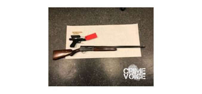 Gang Suppression Detail Arrests 18-Year-Old with Fully-Loaded Stolen Firearms
