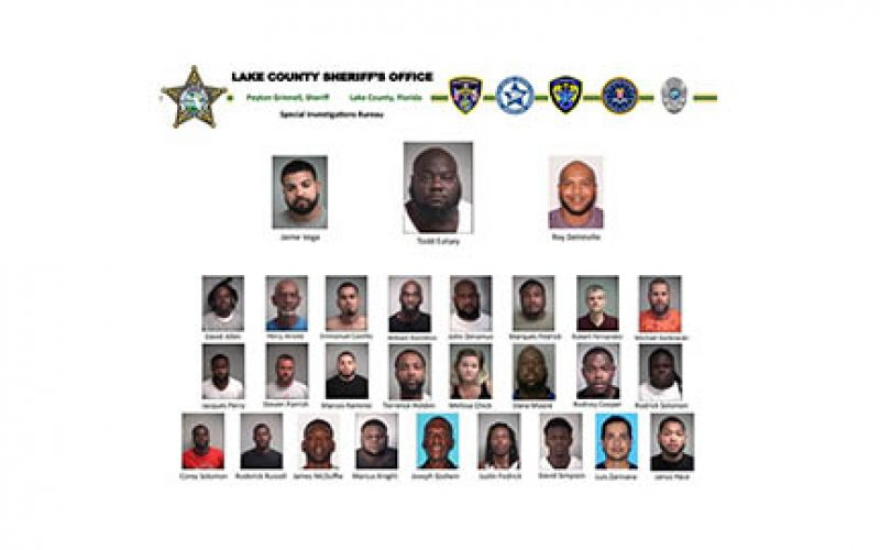 Major Cocaine Operation Yields Drugs, Guns, 18 Arrests and $20,000