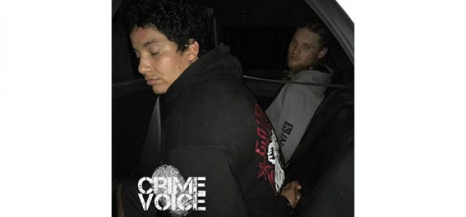 Late Night Traffic Stop Yields Two Arrests