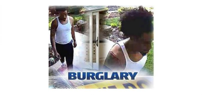 Police Searching for Residential Burglar Who Stole Safe