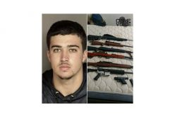 Probation Check Reveals Felon with 7 Firearms