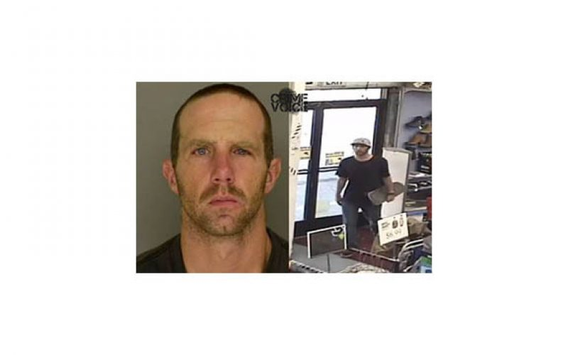 Man Arrested for Theft, Skateboard Assault