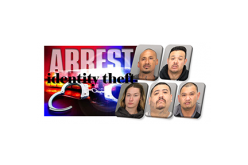 Five Suspects Linked to Mail and Identify Theft Arrested