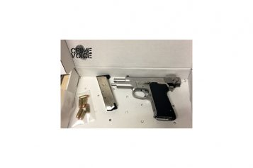Loaded Handgun Found Inside Car, 2 Men Arrested at Gas Station