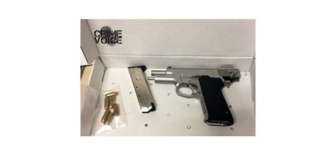 Loaded Handgun Found Inside Car, 2 Men Arrested at Gas Station