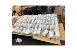 Search of car leads to 67-pound haul of methamphetamine