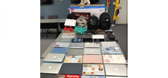 Residential Burglaries Solved after Traffic Stop