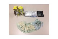 Meth and Money Seized in Drug Bust