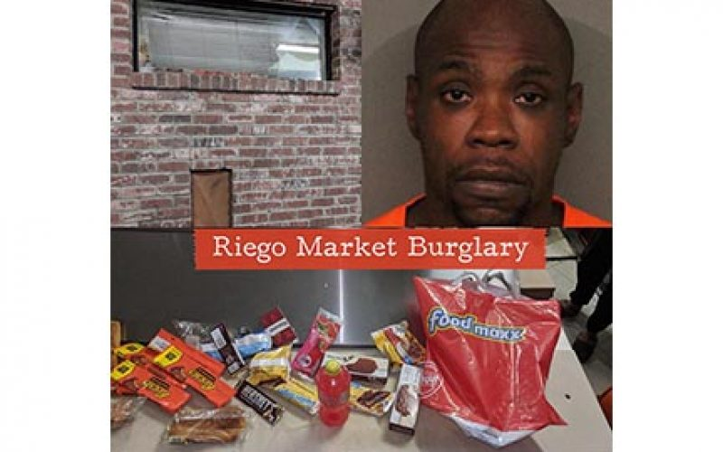 Sweets and Smokes Craving Causes Brick-Throwing Burglary