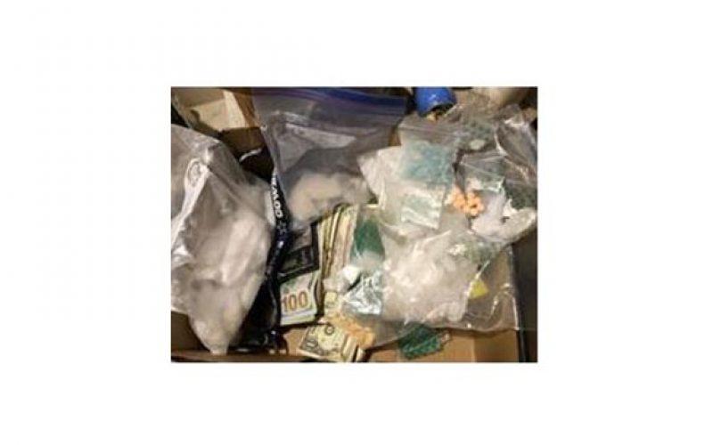 Task Forces Partner Up For Large Narcotics Bust and Arrest