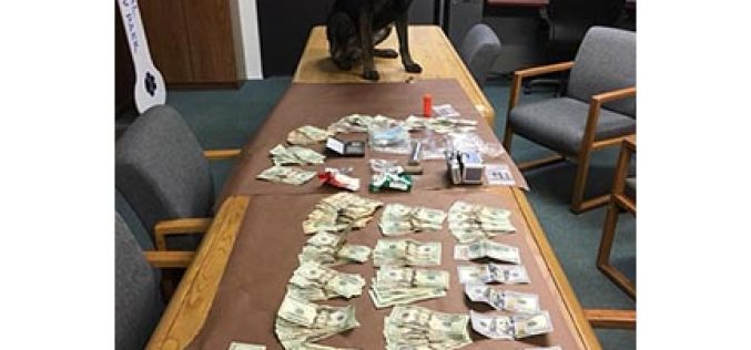 K-9 Kai Assists in Traffic Stop Drug Bust