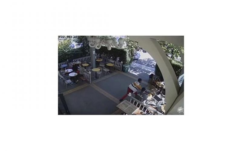 YouTube Video Shows Snatch and Grab at Outdoor Café