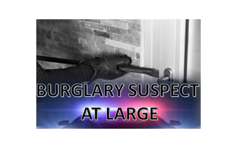 Burglary suspect adept at opening apartment complex doors