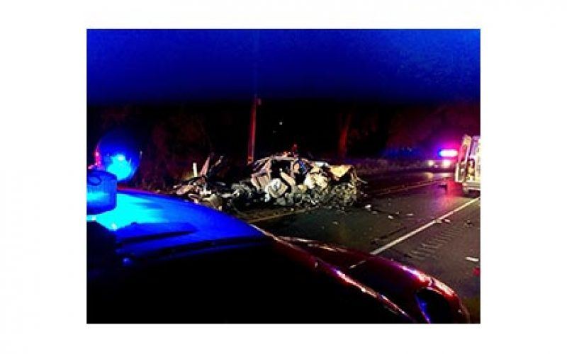 """DUI Driver's Car """"Completely Obliterated"""""""