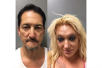 Two in Stolen Car Transporting Drugs